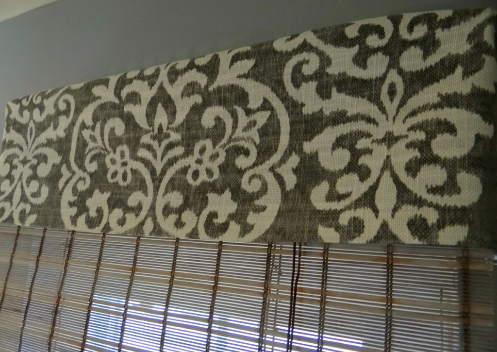 DIY Fabric Valance