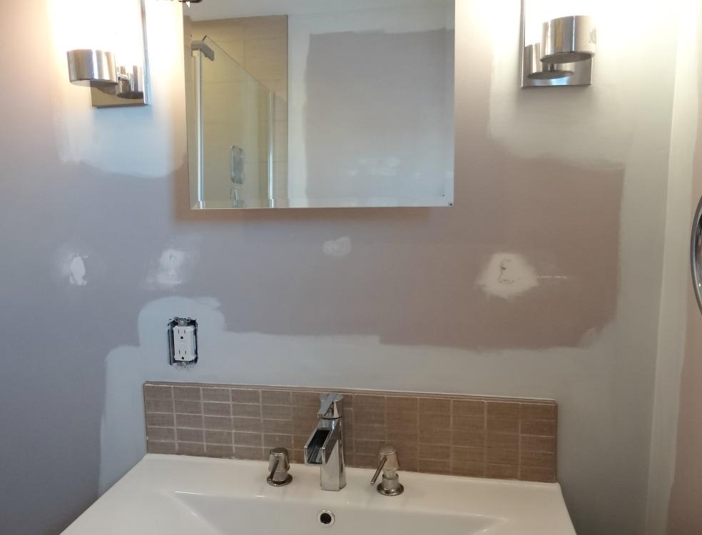 Repainting Walls - Cutting