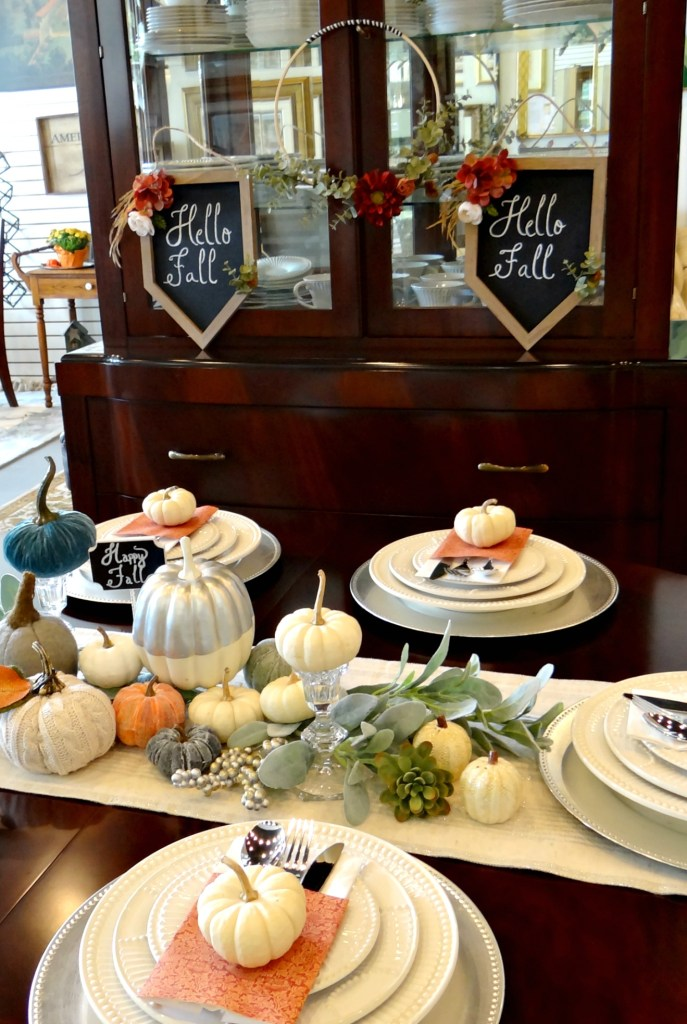 Fall Tablescape - Beauteeful Living