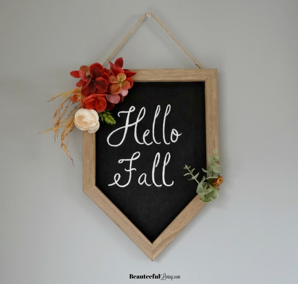 Hello Fall Wall Decor - Beauteeful Living