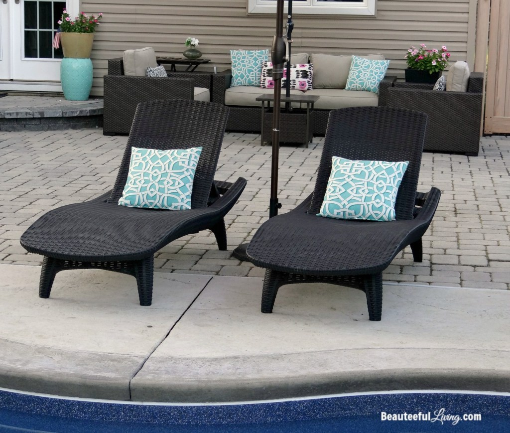 Keter Patio Chaise Loungers