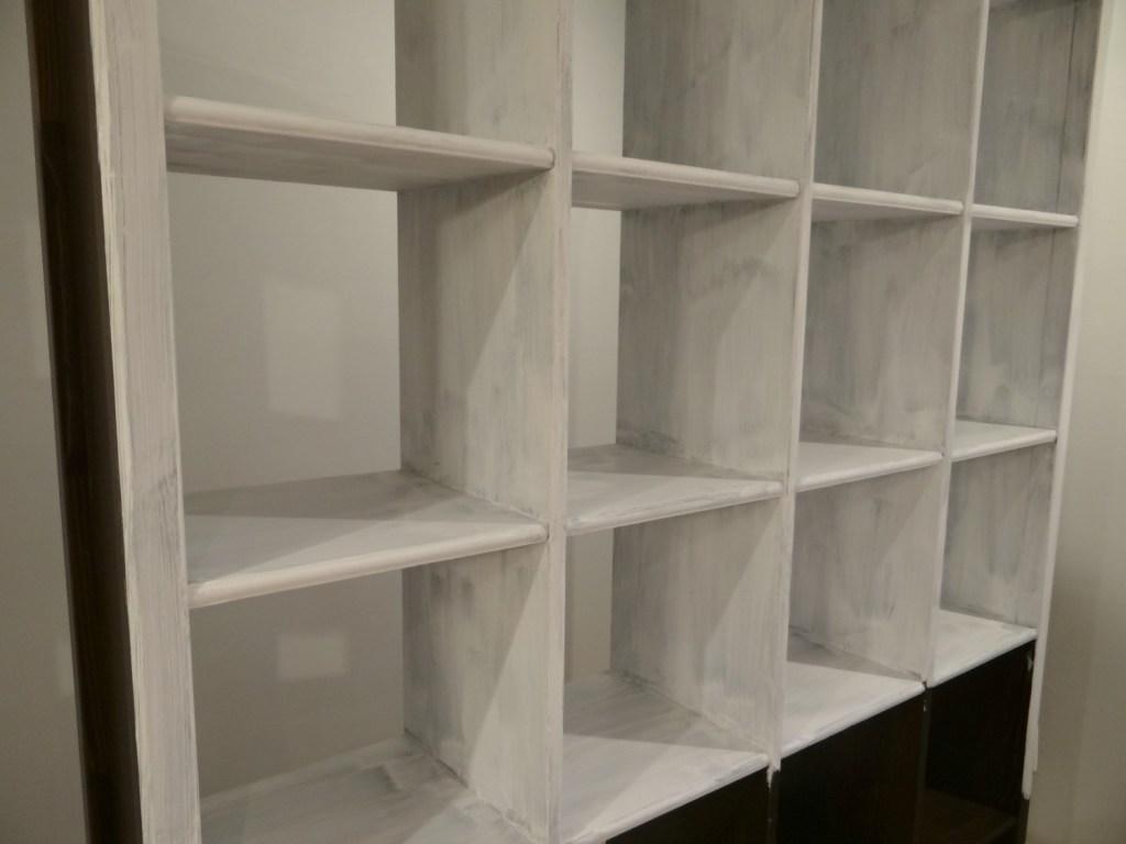 Repainting bookcase