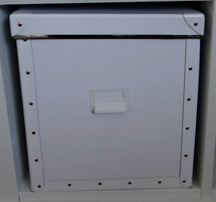 White File Box