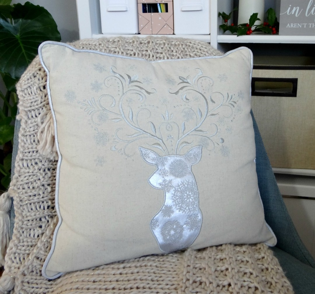Glam Christmas Pillow