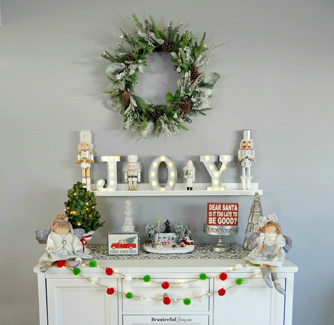 Glam Holiday Console Table - Beauteeful Living
