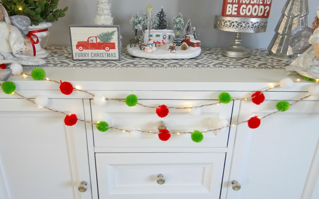 Glam Holiday Styling for Your Console Table
