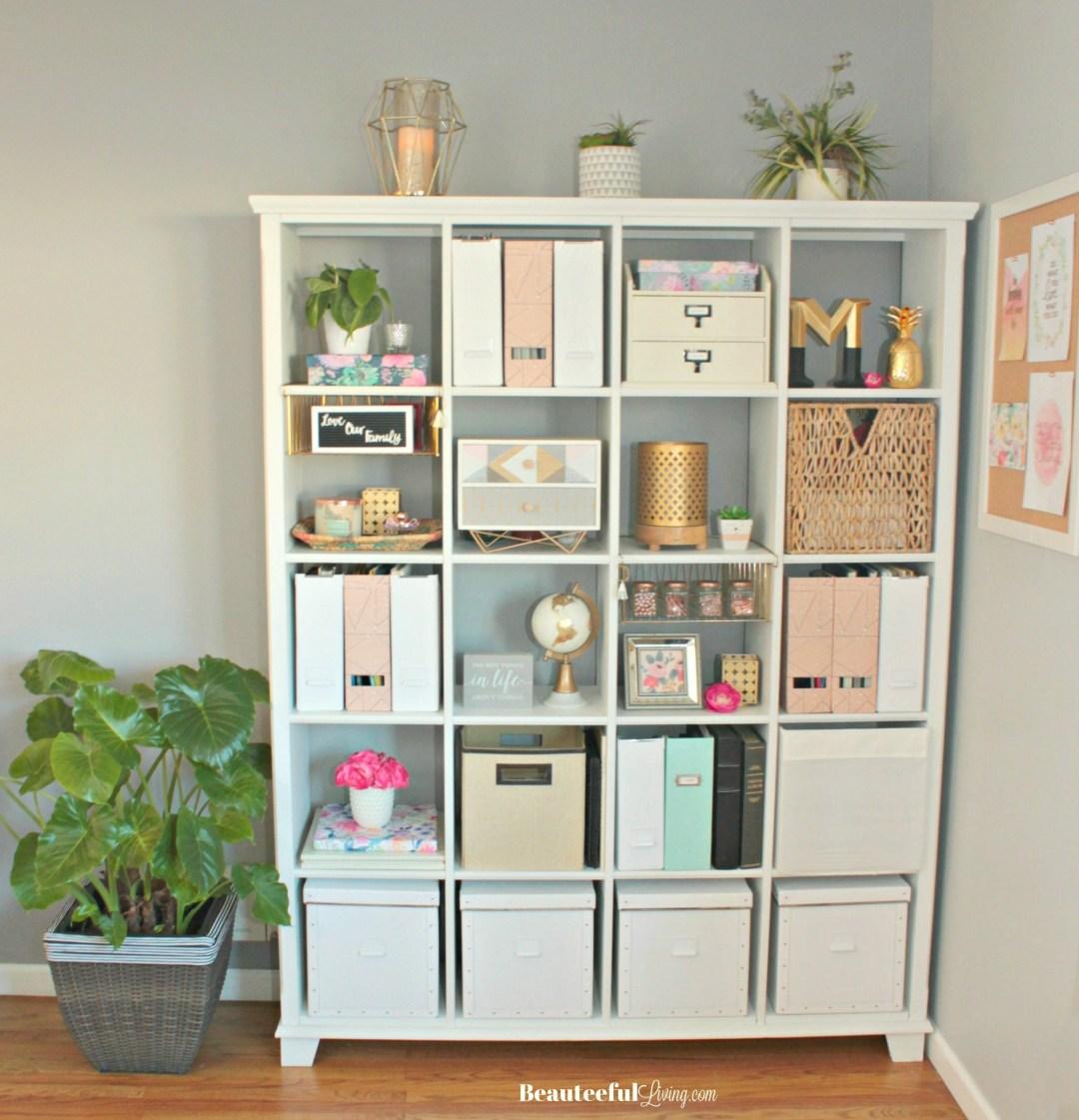 How to Repaint Book Shelf - Beauteeful Living