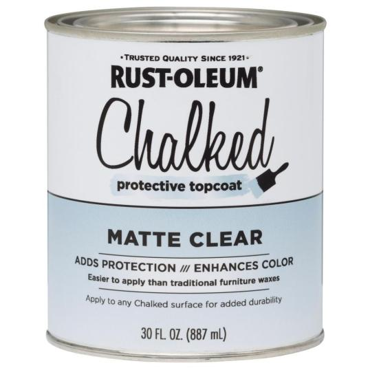 Rustoleum Chalked Paint Matte Clear