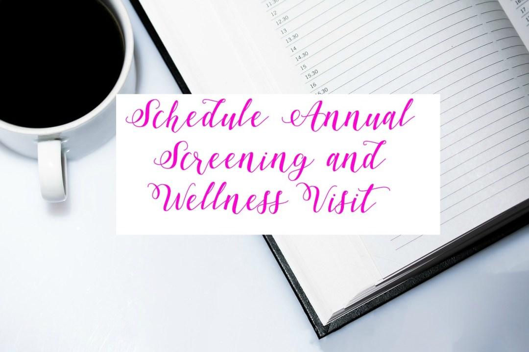 Schedule doctor visit