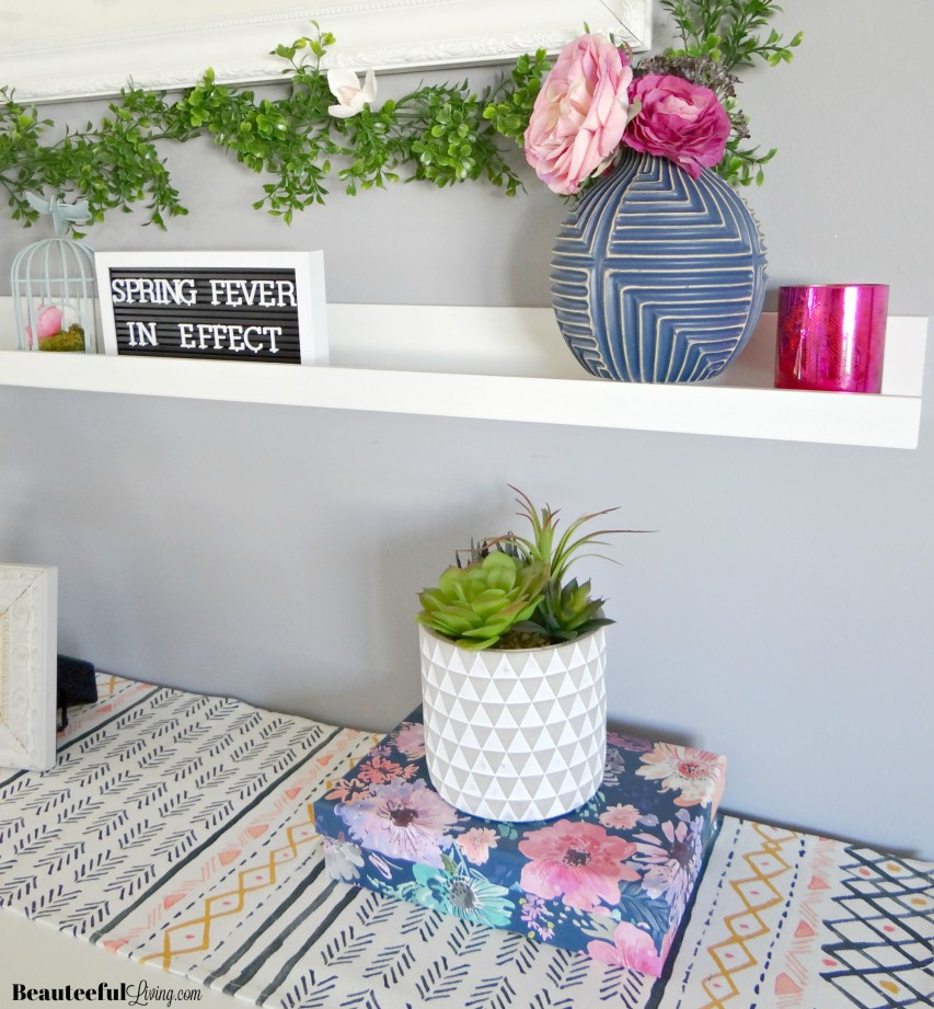 Spring Mantel 2019 Preview - Beauteeful Living