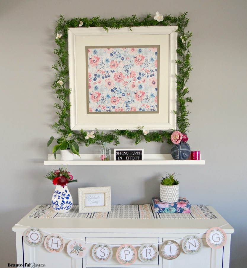 Spring Mantel - Beauteeful Living