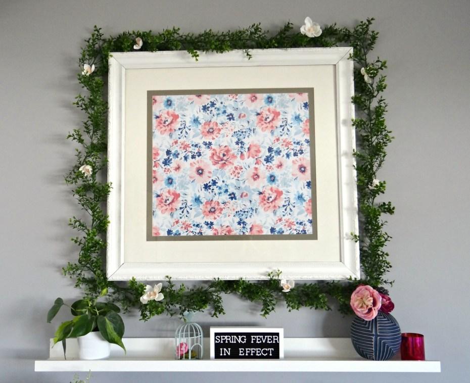 Spring Mantel Frame - Beauteeful Living