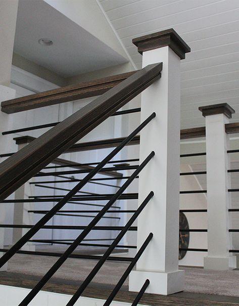 Stairware House Round Bar Stair Railing