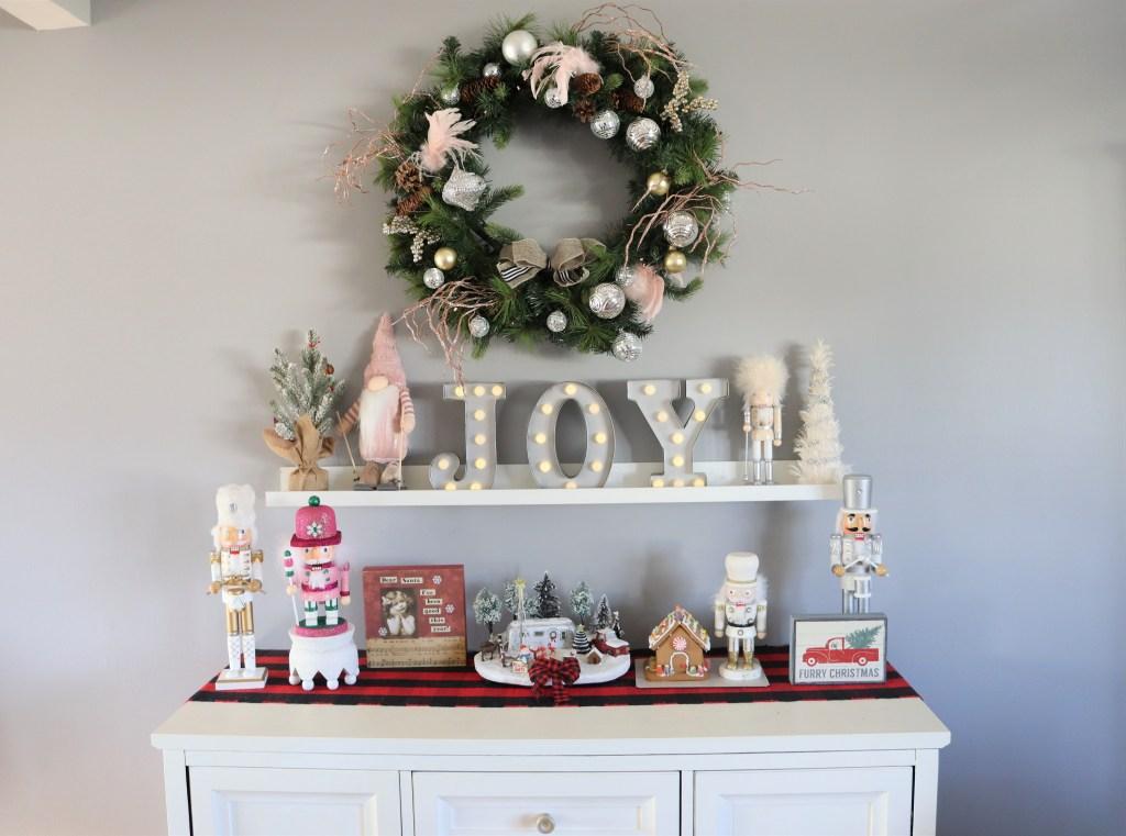 Christmas Display Table