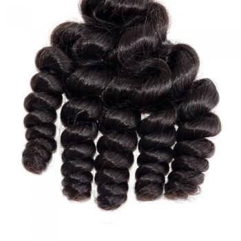 Loose Curly Virgin Brazilian Hair