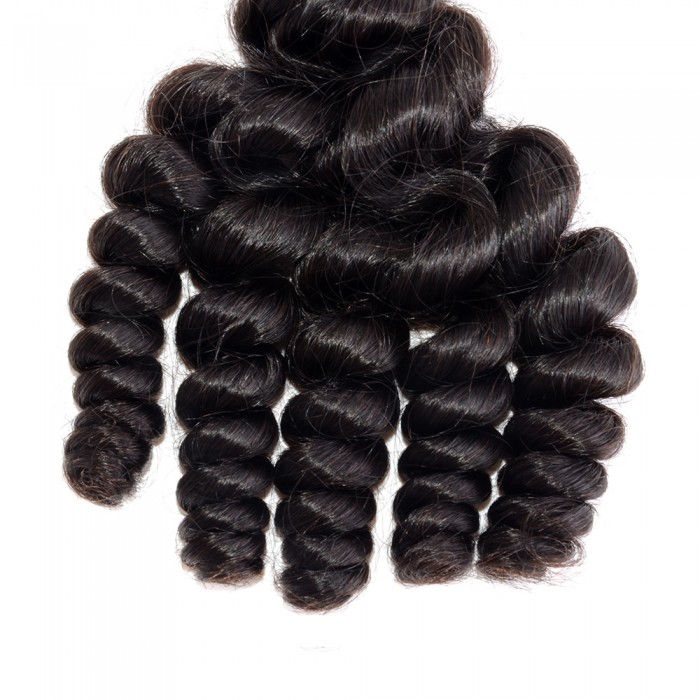 Loose Curly Virgin Brazilian Hair
