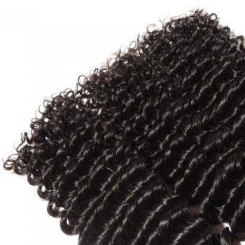 Deep Curly Virgin Brazilian Hair