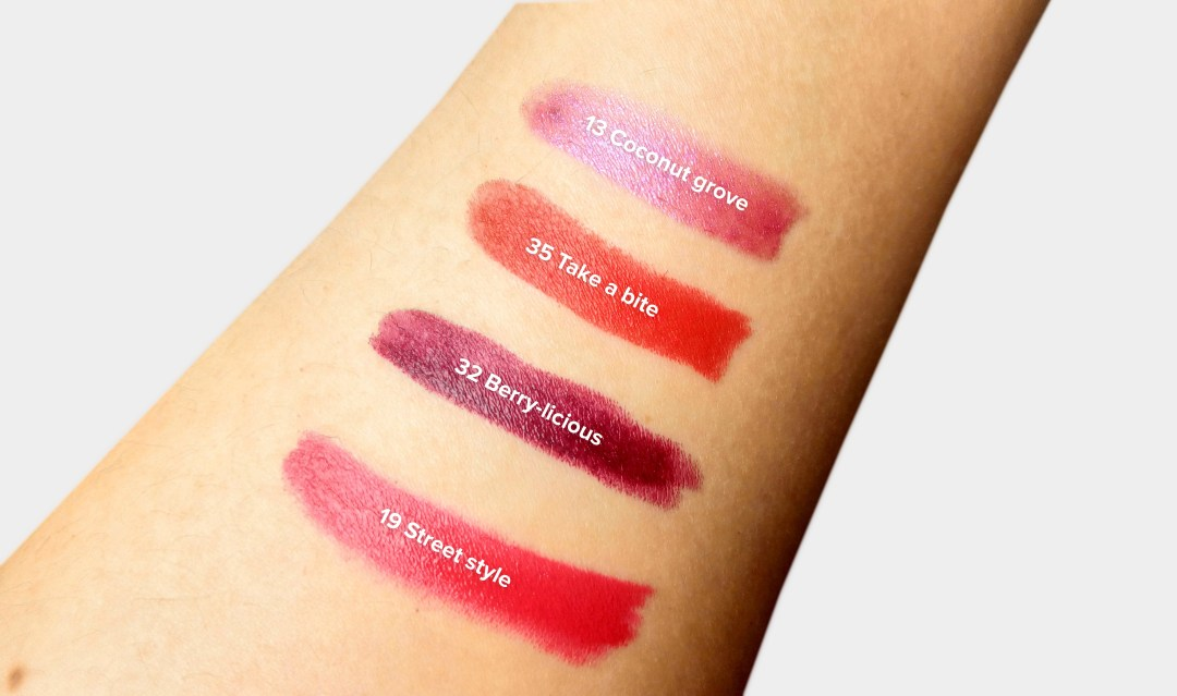 #Lipstories swatches