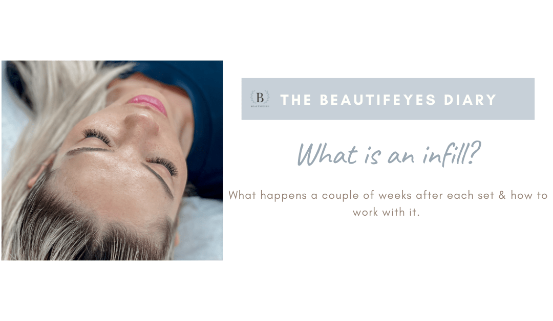 What are Eyelash Extension Infills