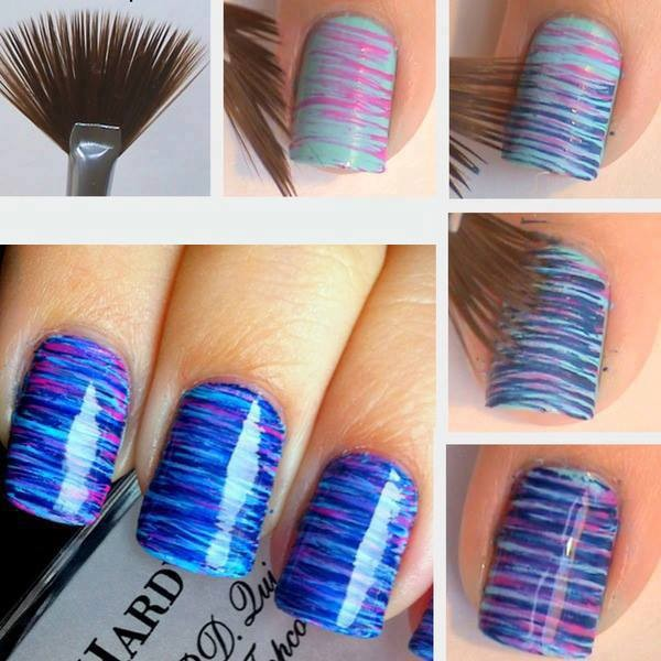 Easy Nail Art With A Toothpick