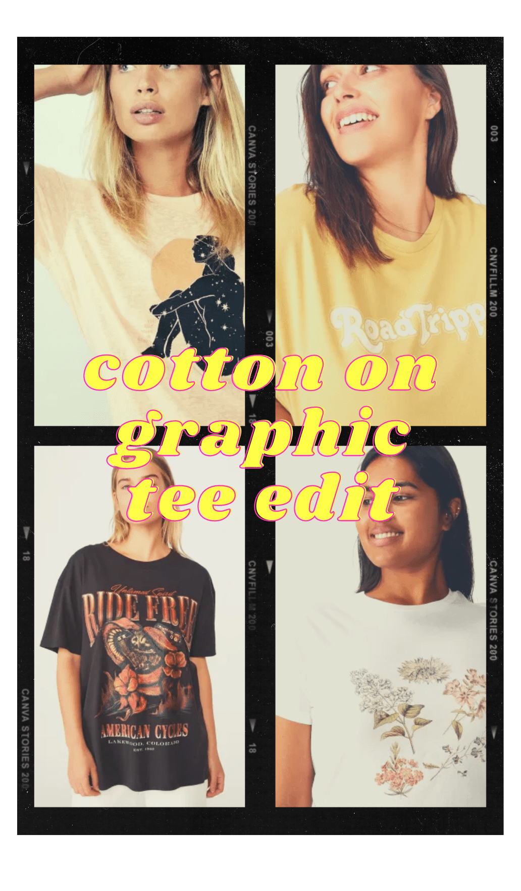 Cotton On Cute Tees