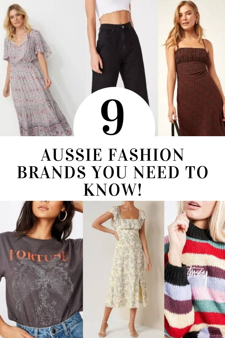 8 Australian Fashion Stores You NEED To Know: My Faves!