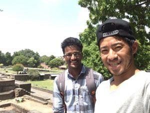 img 2603 300x225 - HelloTalkを使ってインドの友人と会ってみた