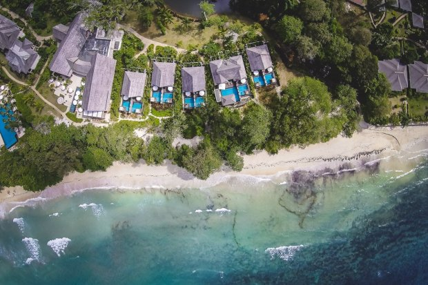 The H Resort & Sesel Spa, Mahé, Seychellen - eleganter Tropen-Chic am Beau Vallon Beach (+ Video)