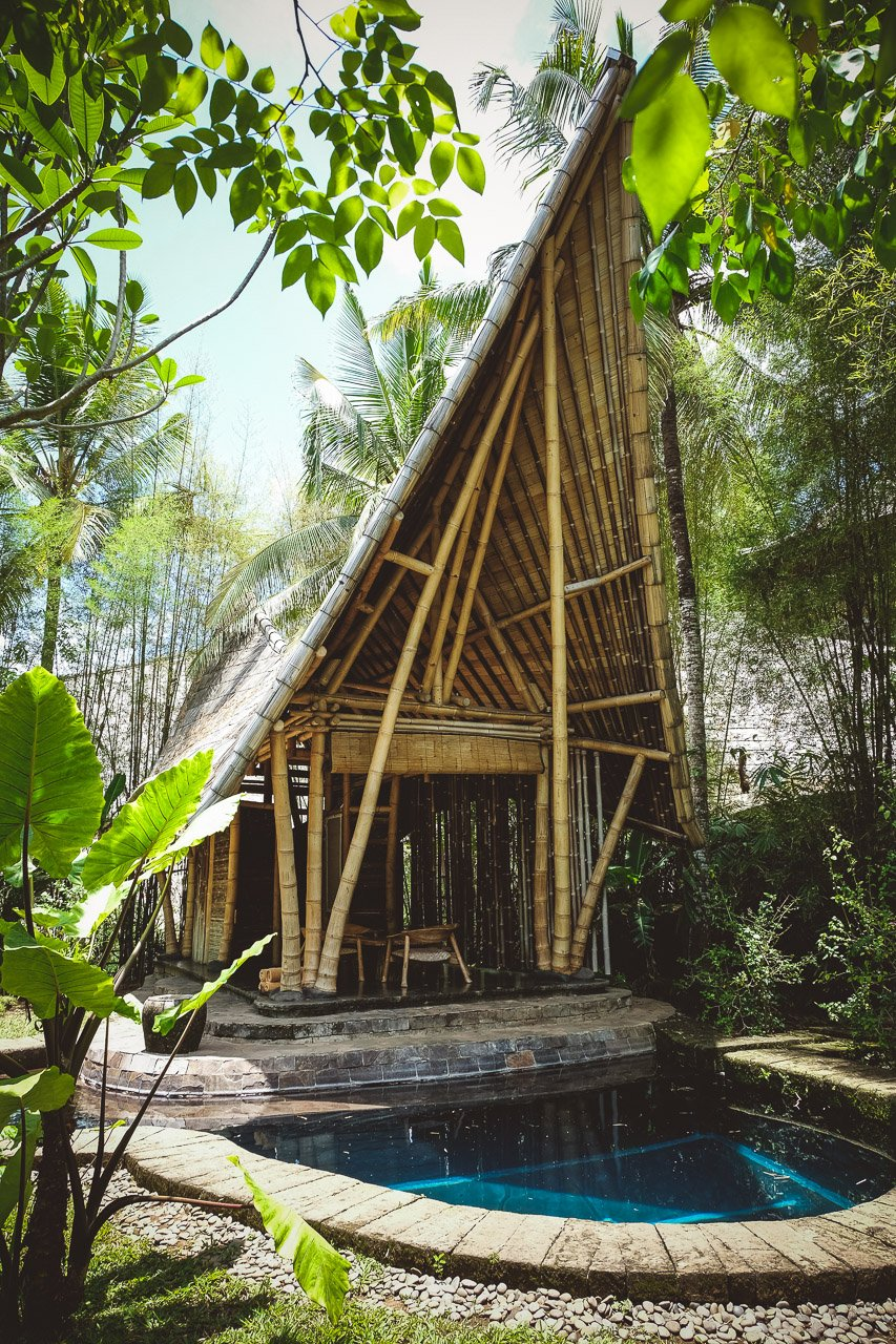 Green Village Bali Spectacular Sustainable Bamboo Villas By Ibuku Team Beautiful Places For Lovers