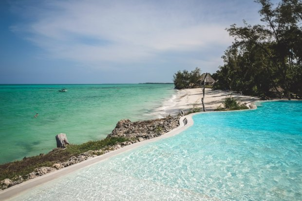 Pongwe Beach Hotel, Sansibar, Afrika - Entspannung in der Suite mit eigenem Pool an einem der schönsten Strände der Insel