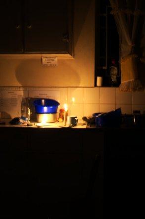 Candlelit dishes