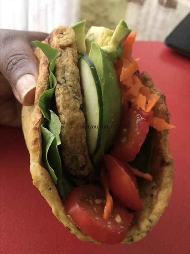 quick zucchini wrap