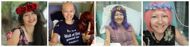 before and during chemotherapy