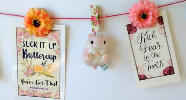 Create a Cute Motivational Banner