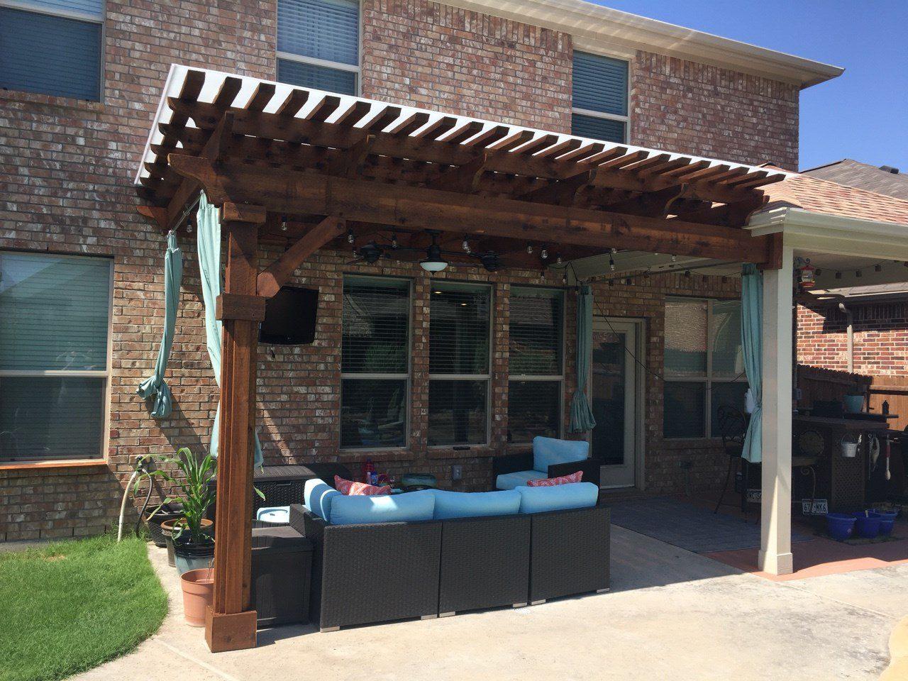   Beautiful Backyard Living   Patio Covers   Swimming ... on Backyard Patio Covers  id=27704