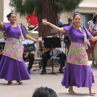 Philippine folk dancing in Balboa Park!