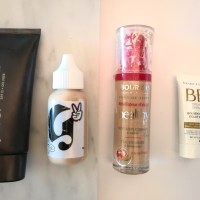 Top 4 Favorite Foundations