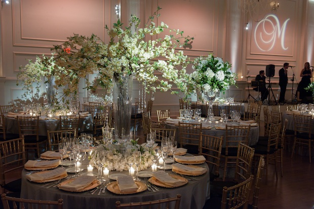 Friday Feature Cescaphe Ballroom Unveiling Beautiful Blooms