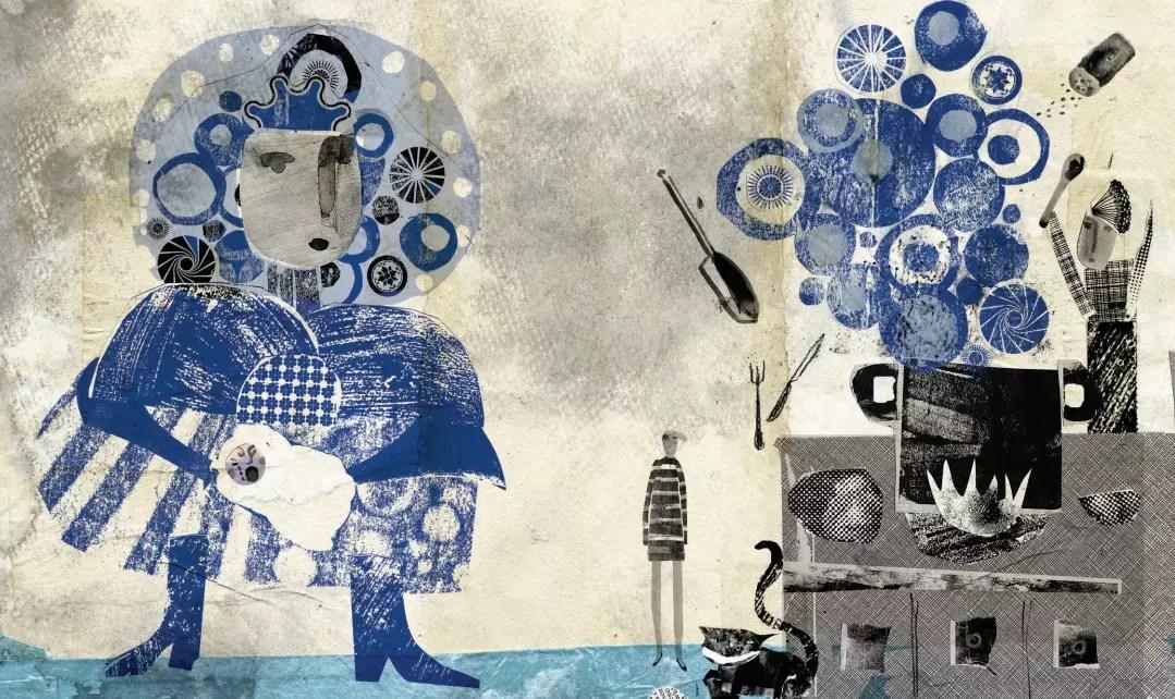 Rockport Alice in Wonderland internal illustration