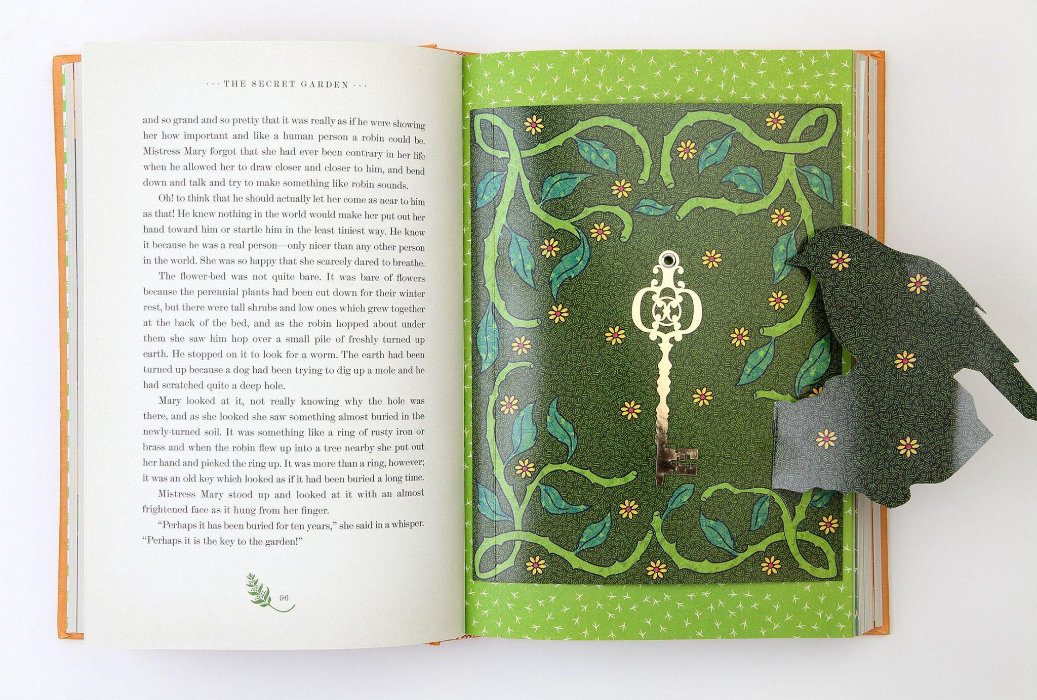 Secret Garden by MinaLima | beautifulbooks.info