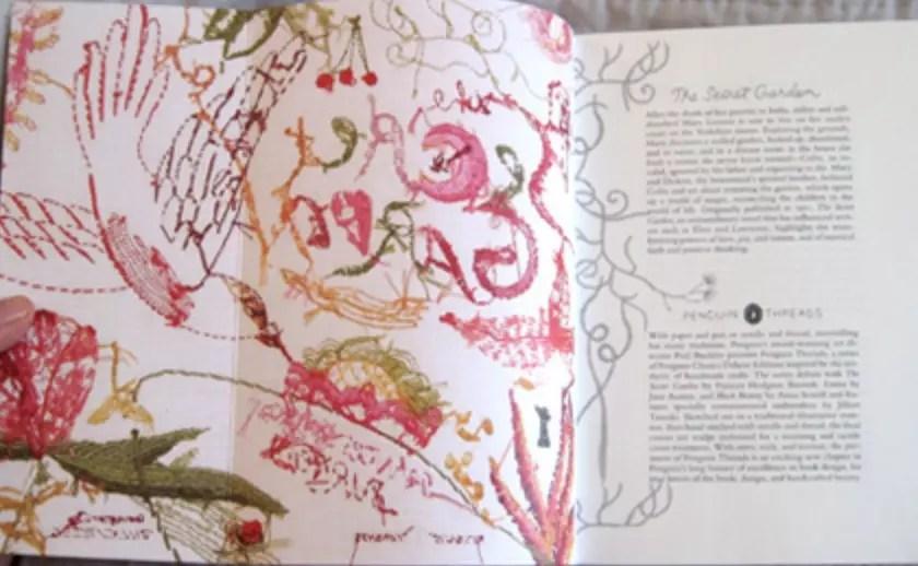 Secret Garden Penguin Threads inside cover | beautifulbooks.info