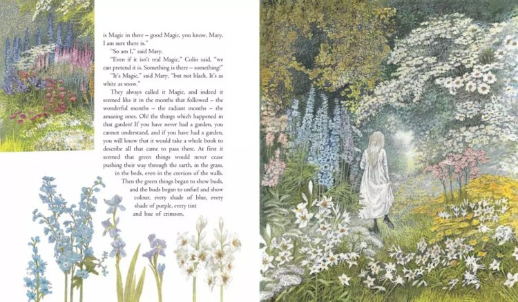 The Secret Garden illustrated by Inga Moore | beautifulbooks.info
