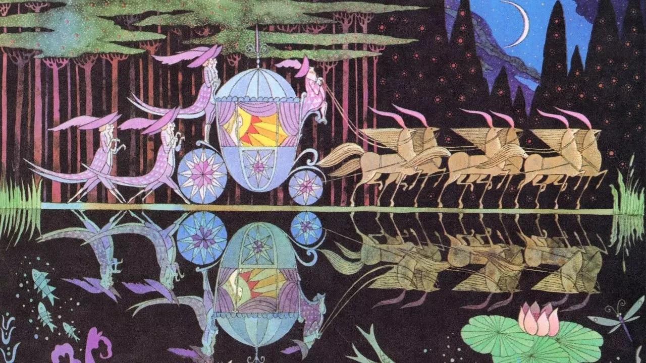 Errol Le Cain - Cinderella's carriage