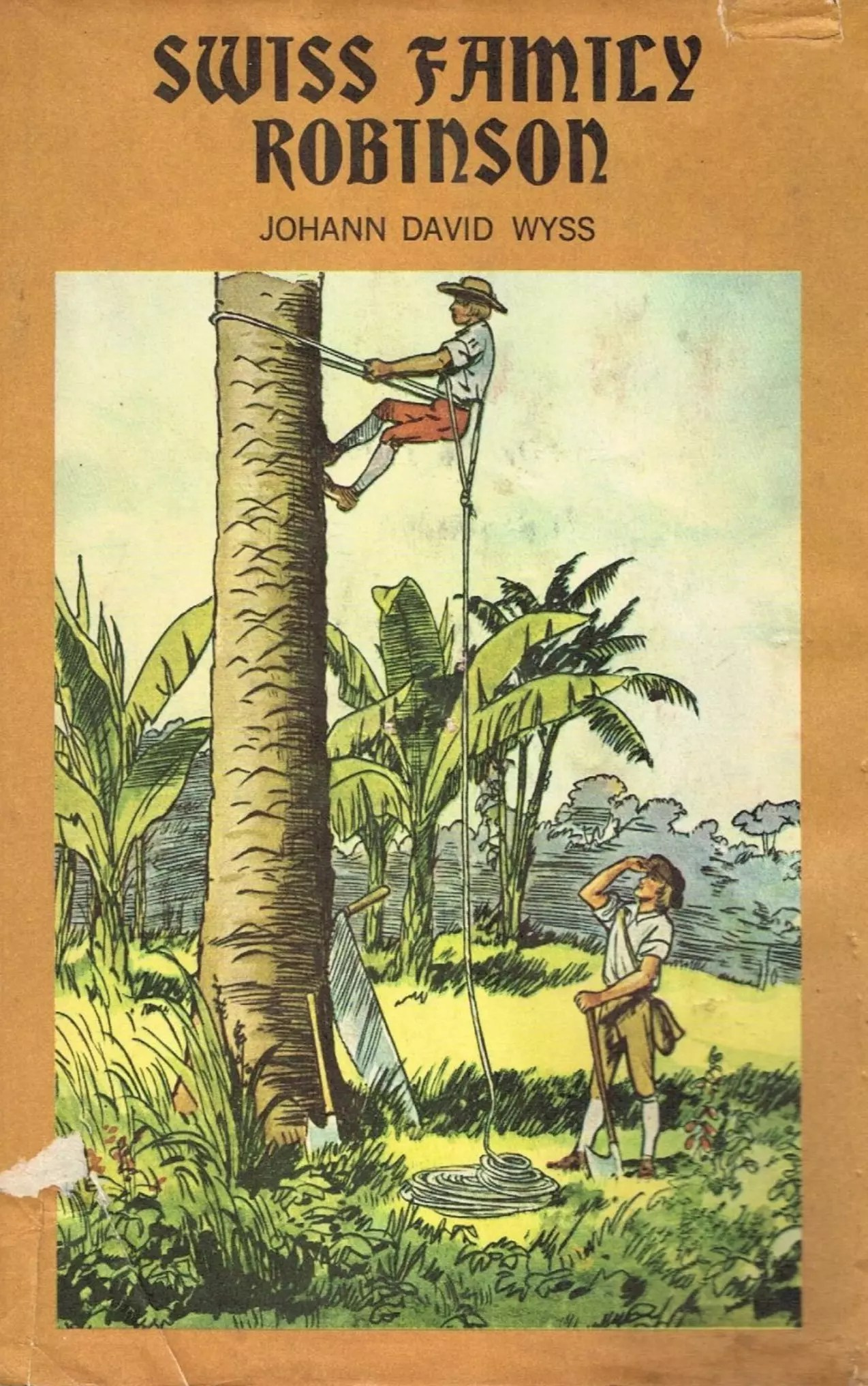 Junior Deluxe Editions Swiss Family Robinson 1954 DJ