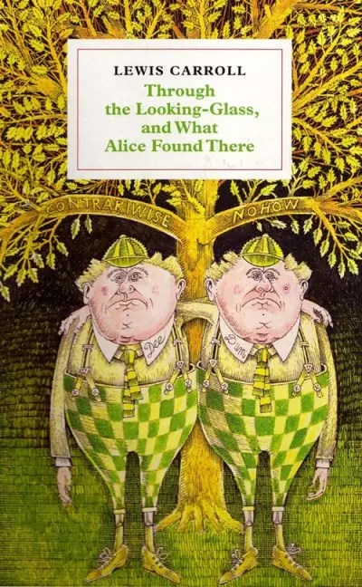 Alice Looking Glass by John Vernon Lord