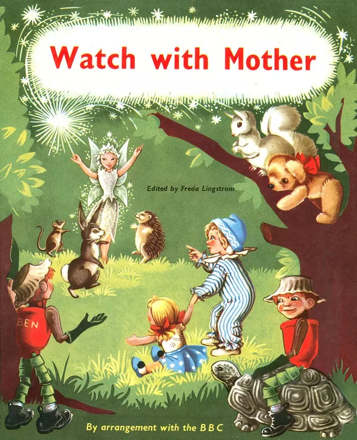 Janet Anne Grahame Johnstone BBC Watch with Mother