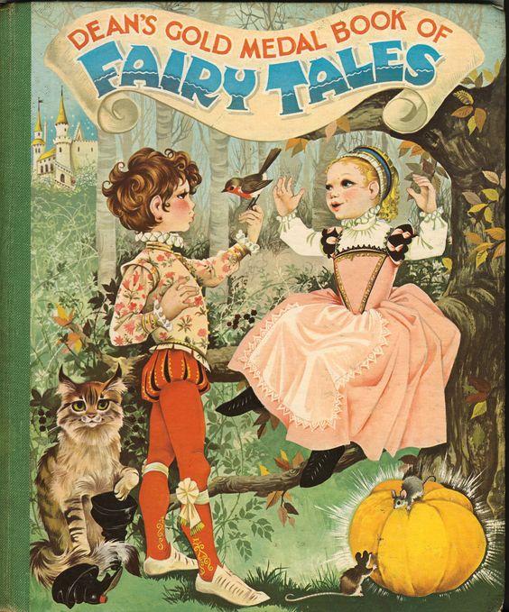 Janet Anne Grahame Johnstone Deans Gold Medal Book of Fairy Tales