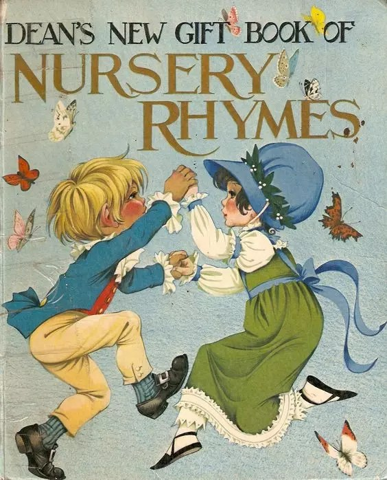 Janet Anne Grahame Johnstone Deans New Gift Book of Nursery Rhymes