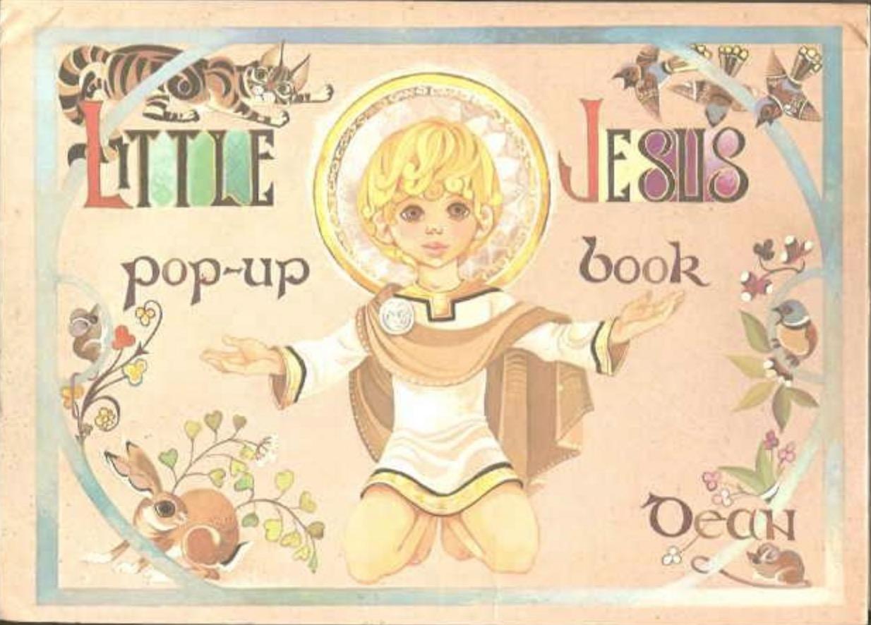 Janet Anne Grahame Johnstone Little Jesus Popup Book