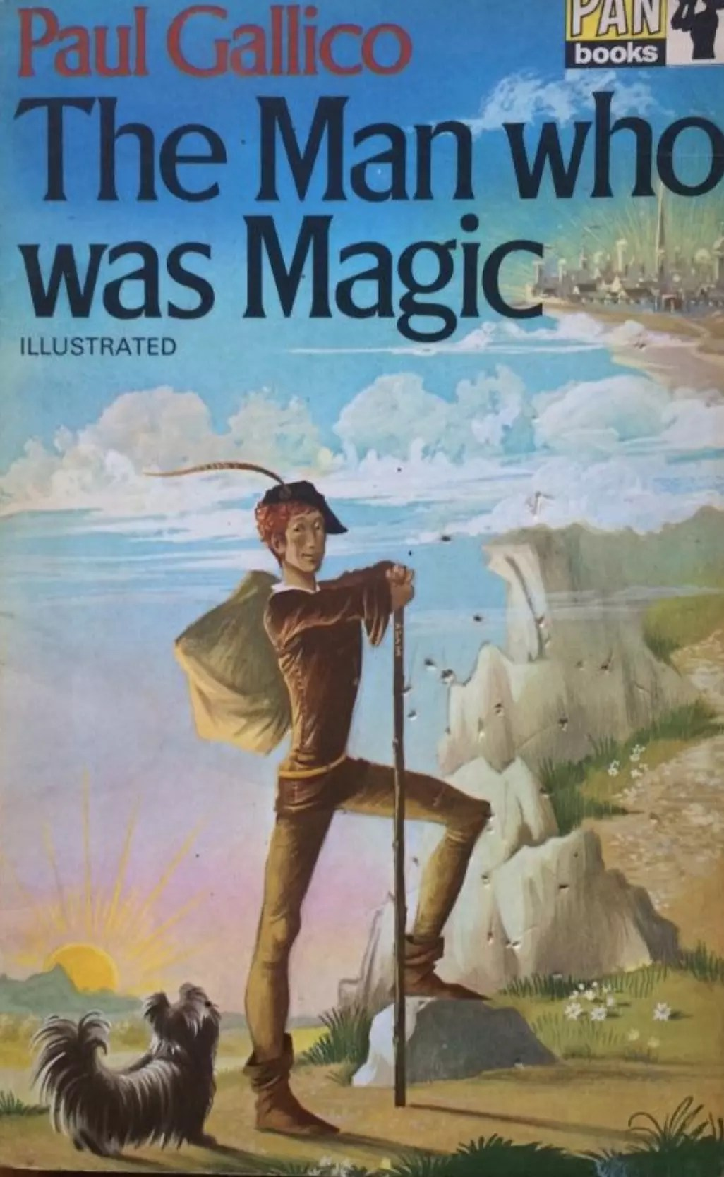 Janet Anne Grahame Johnstone Paul Gallico The Man Who Was Magic